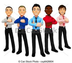 Men clipart group man