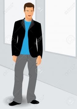 Men clipart handsome