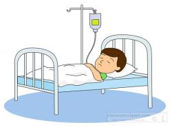 Sick clipart hospital clipart