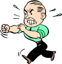 Anger clipart cartoon