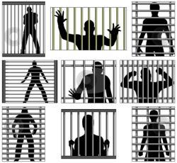 Prison clipart cage