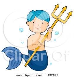 Mermaid clipart male