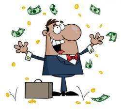 Cash clipart rich man