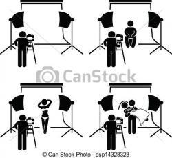 Studio clipart professional photographer