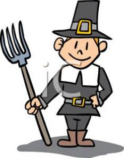 Pilgrim clipart cartoon