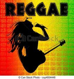 Reggae clipart silhouette