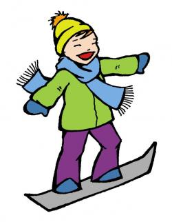 Snowboarding clipart skiing