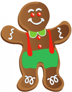 Biscuit clipart gingerbread man