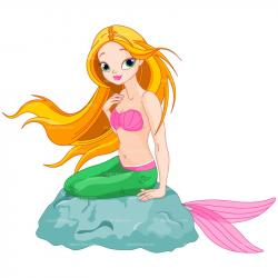 Mauve clipart mermaid