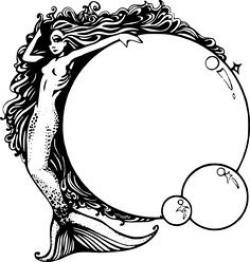 Mermaid clipart siren