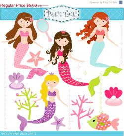 Mermaid clipart sweet