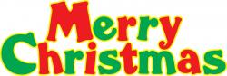 Text clipart merry christmas
