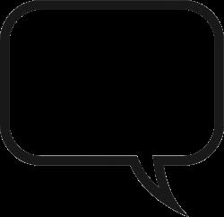 Saying clipart speech bubble