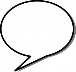 Message clipart bubble