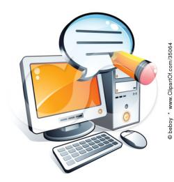 Message clipart computer email