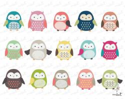 Message clipart cute owl