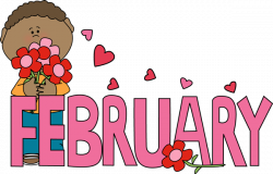 Message clipart february