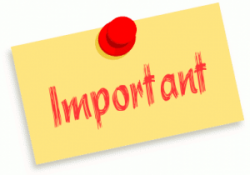 Message clipart important update