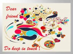Message clipart keep in touch