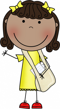 Message clipart messenger person