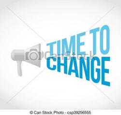 Message clipart schedule change