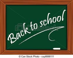 Message clipart school board