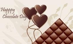 Message clipart valentine chocolate