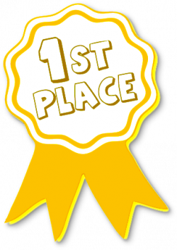 Metal clipart 1st place