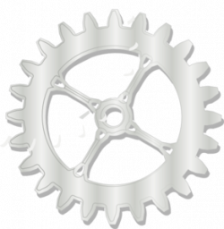 Metal clipart bike gear