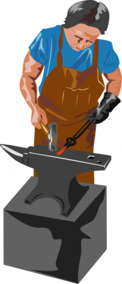 Metal clipart blacksmith