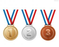 Bronze clipart olympic medal