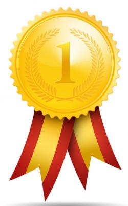 Places clipart gold medal