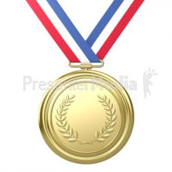 Metal clipart gold medal