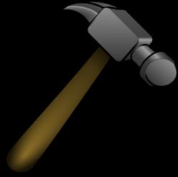 Metal clipart hammer