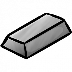 Metal clipart iron ingot