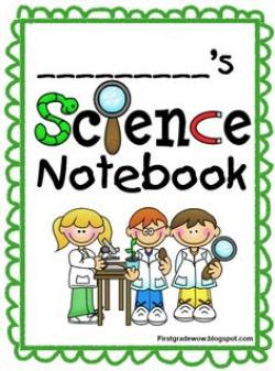 Notebook clipart scientist