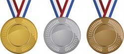 Metal clipart many medal