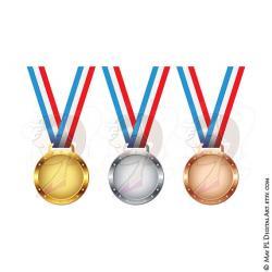 Pl clipart 1st place medal