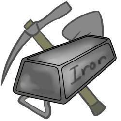 Caol clipart iron ore