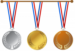 Bronze clipart golden medal