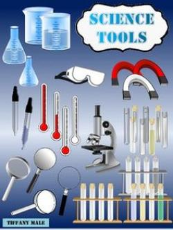 Metal clipart science tool