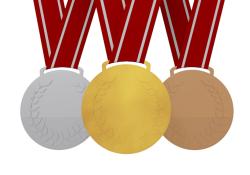Metal clipart sport medal