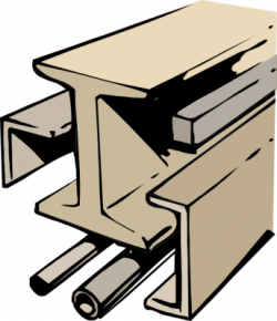 Steel clipart steel beam