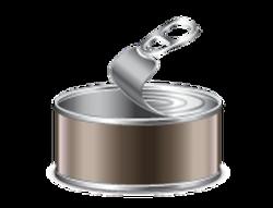 Metal clipart tin