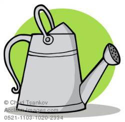 Metal clipart watering can
