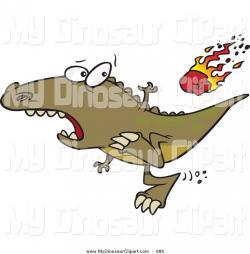 Meteor clipart dinosaur