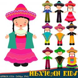 Latin clipart mexican dress