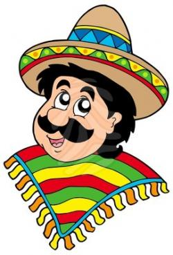 Mexican clipart Mexican Man Clipart