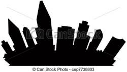 San Diego clipart San Diego Skyline Drawing