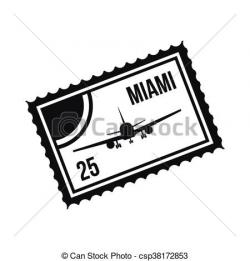 Miami clipart simple